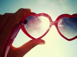 VDay- Heart Sunglasses